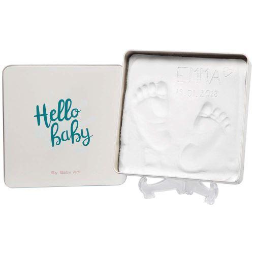Boîte empreinte bébé Baby Art Magic Box Square