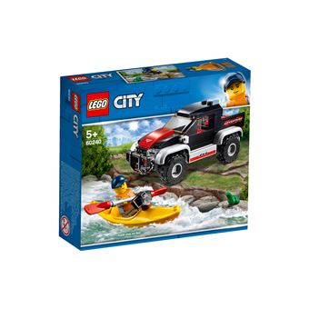 LEGO® City Great Vehicles 60240 L'aventure en kayak