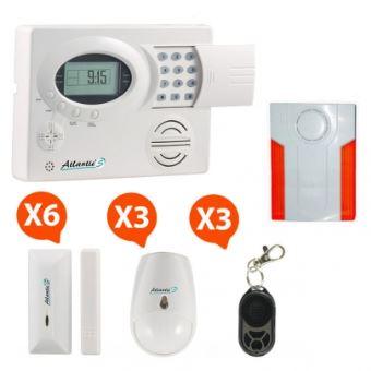 Alarme Maison Sans Fil Atlanticu0027S ST III Kit 5
