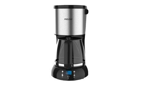 Cafetière filtre Proline CM15SS 1080 W Noir et Argent