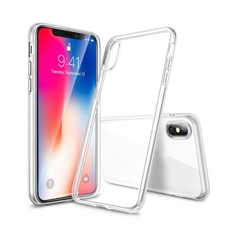 Coque rigide BigBen Transparente pour iPhone X