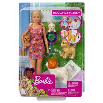 Coffret Barbie et ses chiens Doggy Daycare