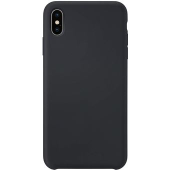 coque iphone xs max noir silicone