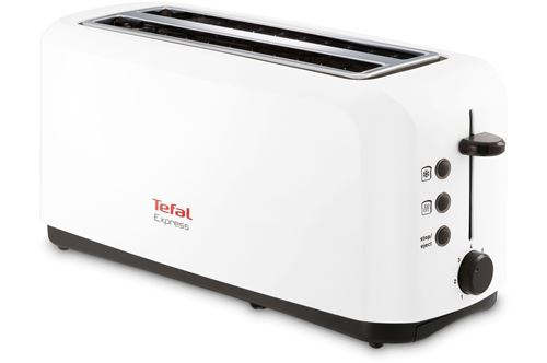 Grille pain Tefal Express TL270101 1500 W Blanc