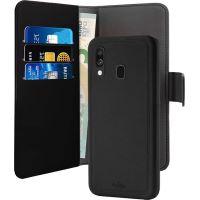 Etui folio détachable Puro avec coque magnétique Noir pour Samsung Galaxy A40