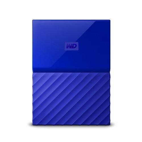 Disque Dur Externe WD My Passport 2 To Bleu - Disque dur externe. Remise permanente de 5% pour les adhérents. Commandez vos produits high-tech au meilleur prix en ligne et retirez-les en magasin.