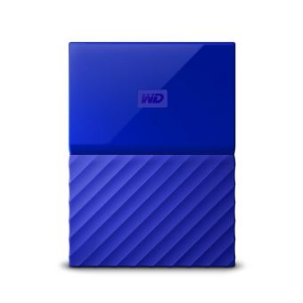 Disque Dur Externe WD My Passport 2 To Bleu