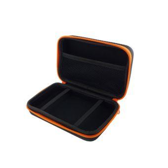 Mallette rigide de rangement Subsonic Noire et orange pour Nintendo New 2DS XL et New 3DS XL