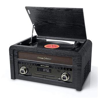 CD Muse MT-115 W Microsysteem met Vynil Plaat