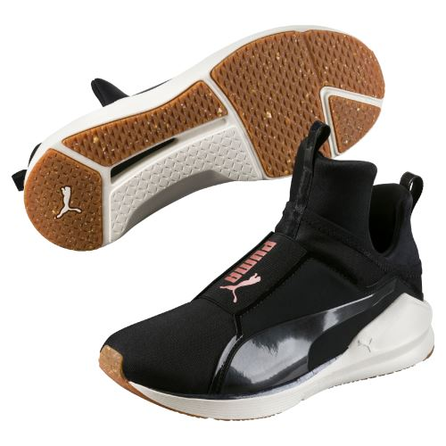 Chaussures Femme Puma Fierce Velvet Rope Noires Taille 42