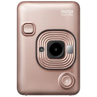 Appareil photo instantané et imprimante portable Fujifilm Instax Mini LiPlay Or Rose