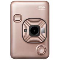 Fujifilm Instax Mini LiPlay Instant Camera en Draagbare Printer Roos/Goud - Binnenkort Beschikbaar