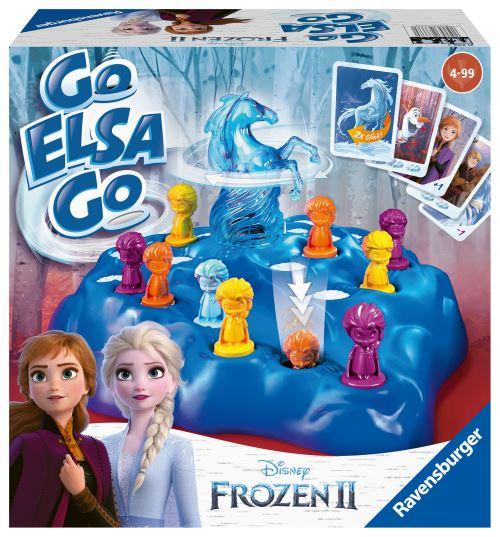 Jeu Ravensburger Go Elsa Go La Reine des Neiges 2