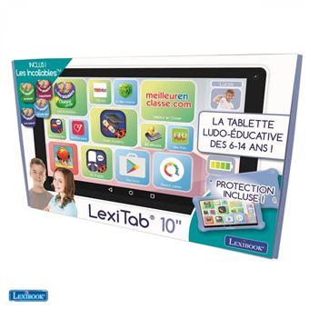 """Tablette ludo-éducative Lexibook LexiTab 10"""" Blanc et Mauve"""