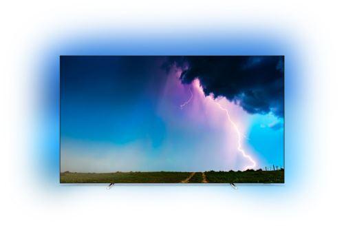 """Plus de détails TV Philips 65OLED754 UHD 4K Ambilight 3 côtés Smart TV 65"""" Noir"""