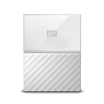 Disque Dur Externe WD My Passport 2 To Blanc