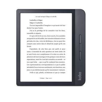 Liseuse numérique Kobo by Fnac – Kobo Libra H2O Noir