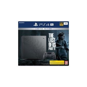 Pack Sony PS4 PRO 1 To Limited Edition The Last of Us Part II