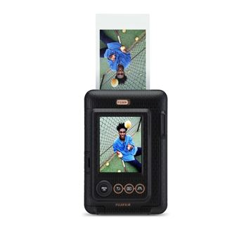 Fujifilm Instax Mini LiPlay Instant Camera en Draagbare Printer Zwart - Binnenkort Beschikbaar