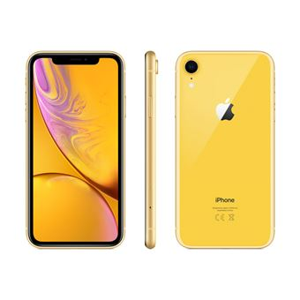 apple iphone xr 128 go 6 1 jaune smartphone achat. Black Bedroom Furniture Sets. Home Design Ideas