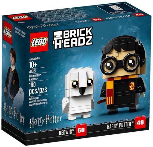 LEGO® BrickHeadz™ 41615 Harry Potter™ & Hedwige