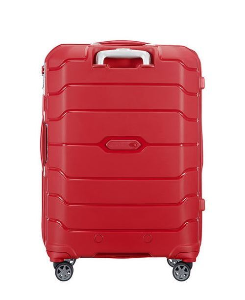 68 M Rouge Taille Flux Valise Extensible Spinner Samsonite 4 Roues Cm 7fgb6y