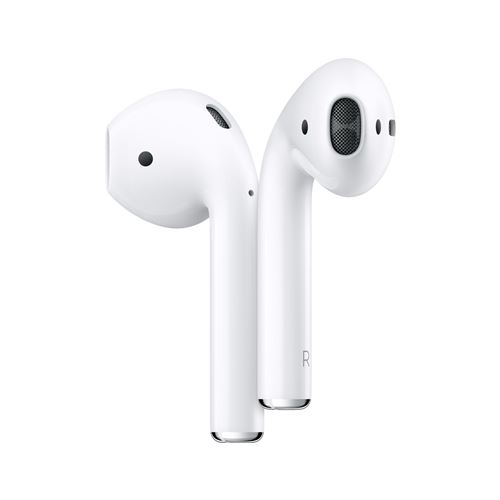 Apple Airpods 2 Generation In-ear Headset White + Ladecase Bluetooth Neu!