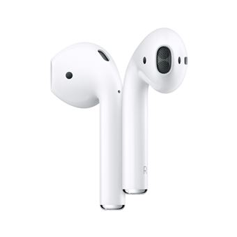 Ecouteurs sans fil Apple AirPods V2 avec boîtier de charge