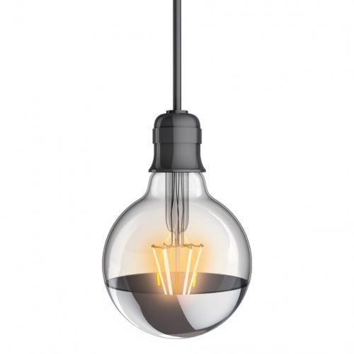 Ampoule globe G95 Xanlite culot E27 Vintage filament 8 W 60 W