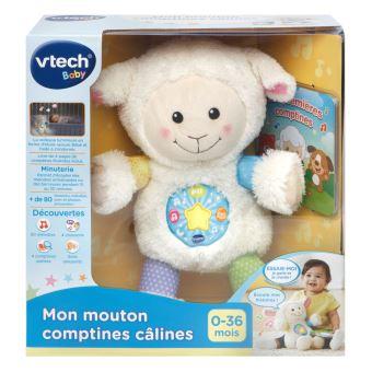 Peluche interactive Mon mouton comptines câlines Vtech Baby