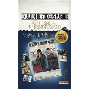 Album Journal Panini vide ANIMAUX FANTASTIQUES Les Crimes de Grindelwald neuf