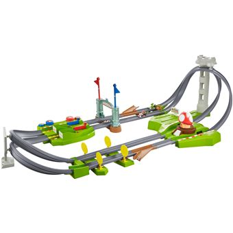 Playset Hot Wheels Deluxe Mario Kart Circuit motorisé