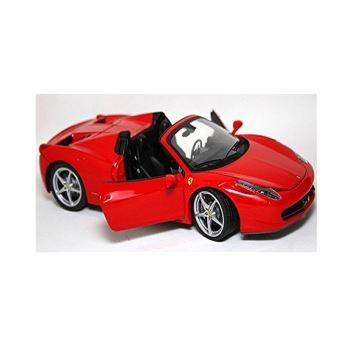 mod le r duit de voiture de collection ferrari 458 spider echelle 1 24 bburago mod le. Black Bedroom Furniture Sets. Home Design Ideas