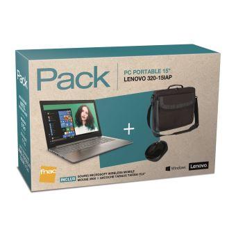 pack fnac pc portable lenovo 320 15iap 80xr00xmfr 15 6 sac targus classic clamshell noir. Black Bedroom Furniture Sets. Home Design Ideas