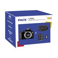Pack Fnac Canon EOS 800D SLR Camera + Lens EF-S 18-135mm + Tas + SD-Kaart 16GB