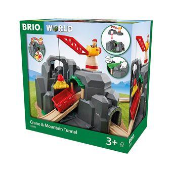 Brio World 33889 Plateforme grue et tunnels multifonctions