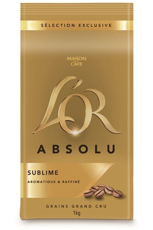 Café en grain Maison du Café L'Or Absolu Sublime 1 Kg Intensité 6