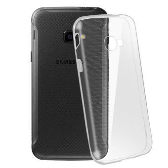 Coque pour Samsung Galaxy Xcover 4 / 4s Silicone Souple Ultra-Fin Transparent
