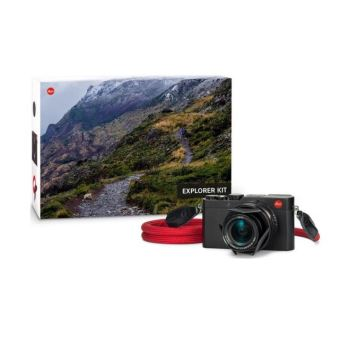 LEICA D-Lux (Typ 109) + Courroie LEICA by COOPH + Bouchon automatique