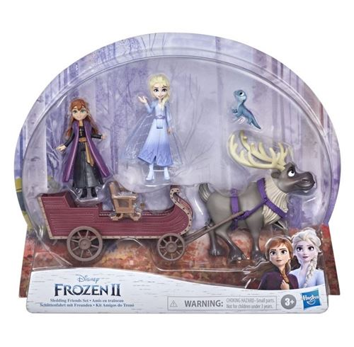 Coffret mini univers Disney Frozen La Reine des Neiges 2 Amis en traîneau