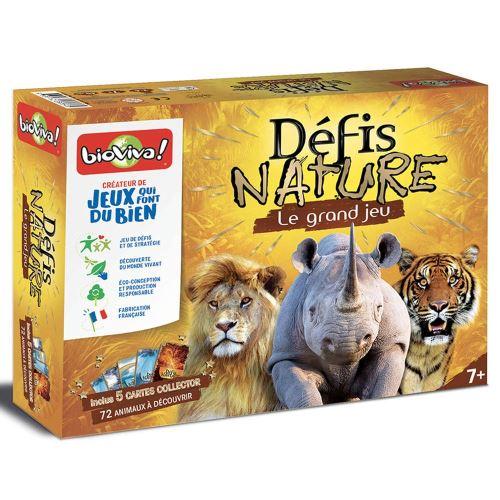 Le grand jeu Bioviva Défis Nature avec Cartes Collector
