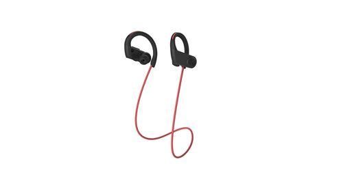 Ecouteurs sans fil Bluetooth Swingson Urban Go + Rouge et noir