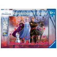 Puzzle Ravensburger 100 pièces XXL Magie Forêt La Reine des Neiges 2
