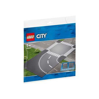 Virage et croisement LEGO City 7281