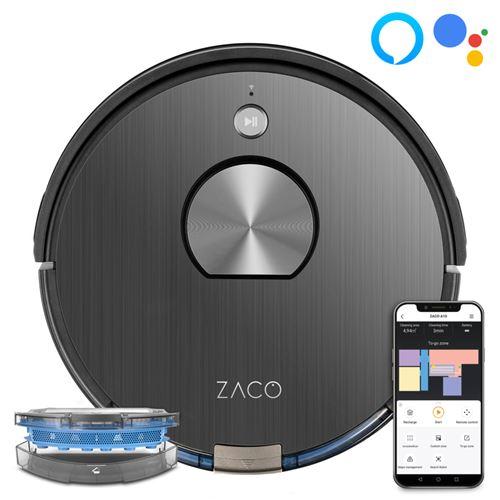 Aspirateur robot laveur Zaco A10 22 W Blanc