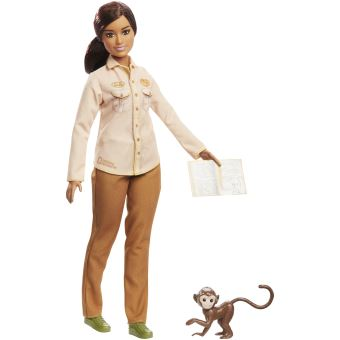 Muñeca Mattel - Barbie Conservacionista National Geographic