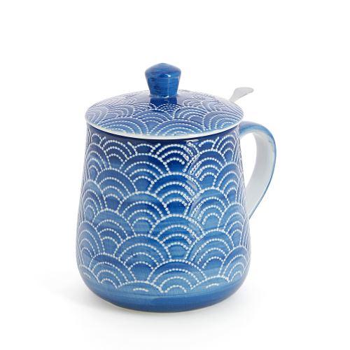 Tasse en céramique Bleue 450 ml