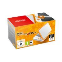 Console Nintendo New 2DS XL Blanc et Orange