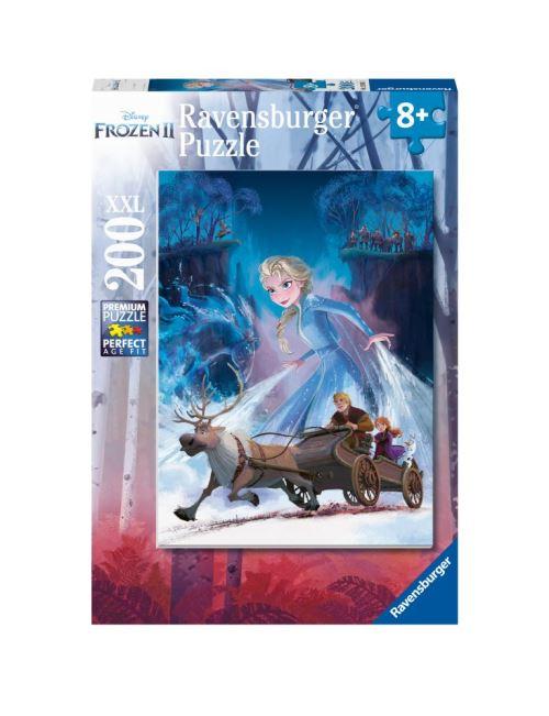 Puzzle 200 pièces XXL Ravensburger Disney La Reine des Neiges 2 La forêt mystérieuse