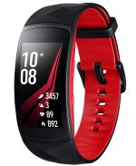 Samsung Bracelet connecté Samsung Gear Fit2 Pro Noir et Rouge...